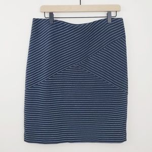 J. Jill Striped Skirt 》new #SK163